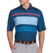 Walter Hagen Perfect 11 Neat Chest Stripe Polo