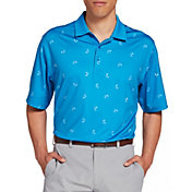 Walter Hagen Men's P11 Palm Tree Golf Polo