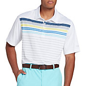 Walter Hagen Men's 11 Majors Digi Printed Stripe Golf Polo