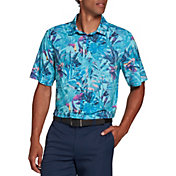 Walter Hagen Men's Perfect 11 Tropical Printed Golf Polo