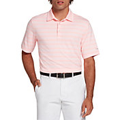 Walter Hagen Perfect 11 Textured Heather Stripe Polo