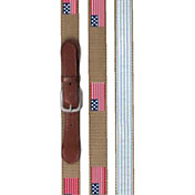 Walter Hagen Men's Canvas Embroidered Golf Belt
