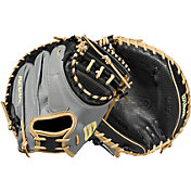Wilson 33.5'' M1D A2000 SuperSkin Series Catcher's Mitt w/ Spin Control 2021
