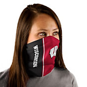Wincraft Adult Wisconsin Badgers Split Neck Gaiter