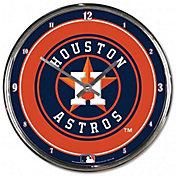 WinCraft Houston Astros Chrome Clock