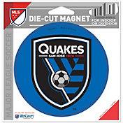 WinCraft San Jose Earthquakes Die-Cut Magnet