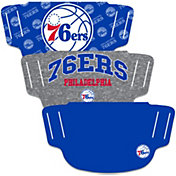 Wincraft Philadelphia 76ers Face Coverings – 3-Pack