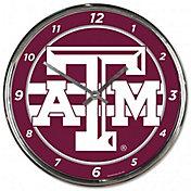 WinCraft Texas A&M Aggies Chrome Clock