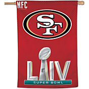 WinCraft Super Bowl LIV Bound San Francisco 49ers Vertical Banner
