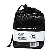 Winnwell Ice Hockey Pucks - 12 Pack