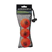 Winnwell 50mm Knee Hockey Balls - 3 Pack