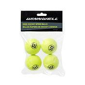 Winnwell Speed 50mm Knee Hockey Balls - 4 Pack