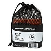 Winnwell Weighted Ice Hockey Pucks - 12 Pack