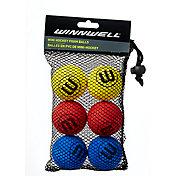 Winnwell EVA 50mm Knee Hockey Balls - 6 Pack