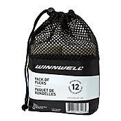 Winnwell Goalie Ice Hockey Training Pucks - 12 Pack