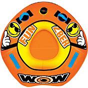 WOW 2BER 1-Person Towable Tube Starter Kit