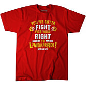 BreakingT Men's 'You've Gotta Fight For Your Right To Lombarrrdi!' Red T-Shirt