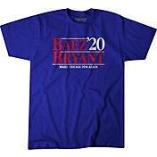 BreakingT Men's 'Baez & Bryant 2020' Blue T-Shirt
