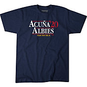BreakingT Men's 'Acuna & Albies 2020' Navy T-Shirt