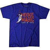 BreakingT Men's 'Mookie Magic' Mookie Wilson Blue T-Shirt