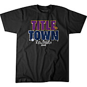 BreakingT Men's Title Town Black T-Shirt