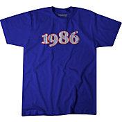 BreakingT Men's New York '1986' Blue T-Shirt
