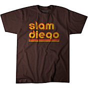"""BreakingT Men's """"Slam Diego"""" Brown T-Shirt"""
