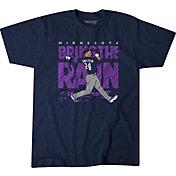 BreakingT Men's Purple 'Bring the Rain' T-Shirt