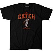 BreakingT Men's 'The Catch' Kevin Mitchell Black T-Shirt