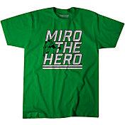 """BreakingT Men's """"Miro the Hero"""" Green T-Shirt"""