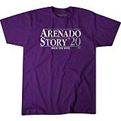 BreakingT Men's 'Arenado & Story 2020' Purple T-Shirt