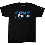 BreakingT Men's Dallas Renegades No Payne No Gain Black T-Shirt