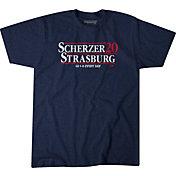 BreakingT Men's 'Scherzer & Strasburg 2020' Navy T-Shirt