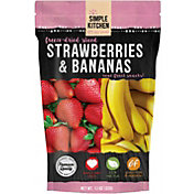 Simple Kitchen Freeze Dried Strawberries and Bananas