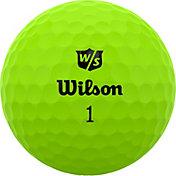 Wilson Staff 2020 Duo Soft Optix Green Golf Balls