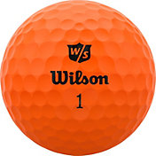 Wilson Staff 2020 Duo Soft Optix Orange Personalized Golf Balls