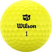 Wilson Staff 2020 Duo Soft Optix Yellow Golf Balls