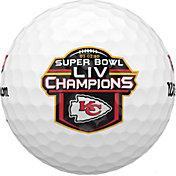Wilson Staff 2020 Duo Soft+ Golf Balls – Super Bowl LIV Champions Kansas City Chiefs Limited Edition