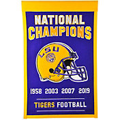 Winning Streak Sports 2019 National Champions LSU Tigers Tradition Banner