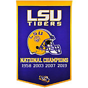 Winning Streak Sports 2019 National Champions LSU Tigers Dynasty Banner