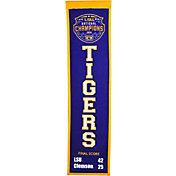 Winning Streak Sports 2019 National Champions LSU Tigers Heritage Banner