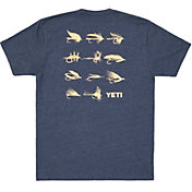 Yeti Men's Flies Short Sleeve T-Shirt