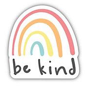 Stickers Northwest Be Kind Rainbow Sticker