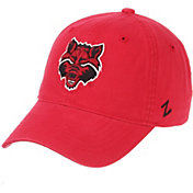 Zephyr Men's Arkansas State Wolves Scarlet Scholarship Adjustable Hat
