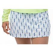 """San Soleil Women's Sunglow 13"""" Print Tennis Skirt"""