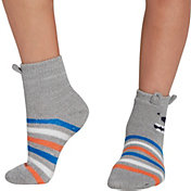 Northeast Outfitters Youth Stripe Bear Cozy Cabin Crew Socks