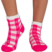 Northeast Outfitters Youth Buffalo Plaid Cozy Cabin Crew Socks