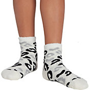 Northeast Outfitters Youth Cheetah Cozy Cabin Crew Socks