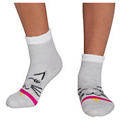 Northeast Outfitters Youth Collared Cat Cozy Cabin Crew Socks