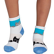 Northeast Outfitters Youth Double Cat Cozy Cabin Crew Socks